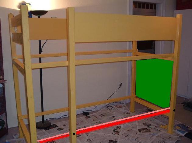elias hochbett selbst gebaut wer hat die schere. Black Bedroom Furniture Sets. Home Design Ideas