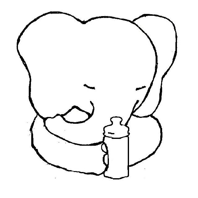 Großzügig Süße Baby Elefanten Malvorlagen Bilder - Ideen färben ...